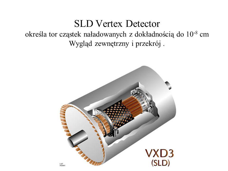 The SLAC Large Detector (SLD) do badania spolaryzowanych cząstek Z i bozonów Z 0 wytwarzanych w zderzeniach spolaryzowanych elektronów i pozytonów. Ma