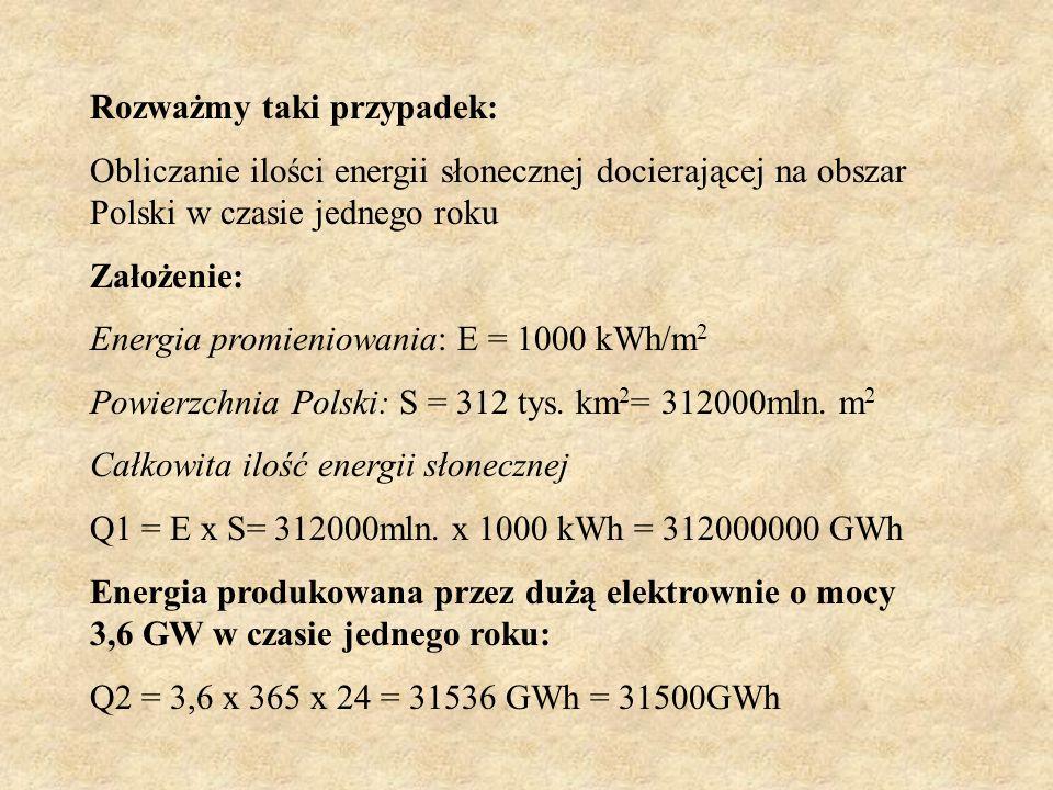 Możemy zatem porównać energie solarną z konwencjonalną energią elektryczną: 3885KWh/rok = 3885 x 0,44PLN = 1710 PLN 1710zł to roczne oszczędności jaki