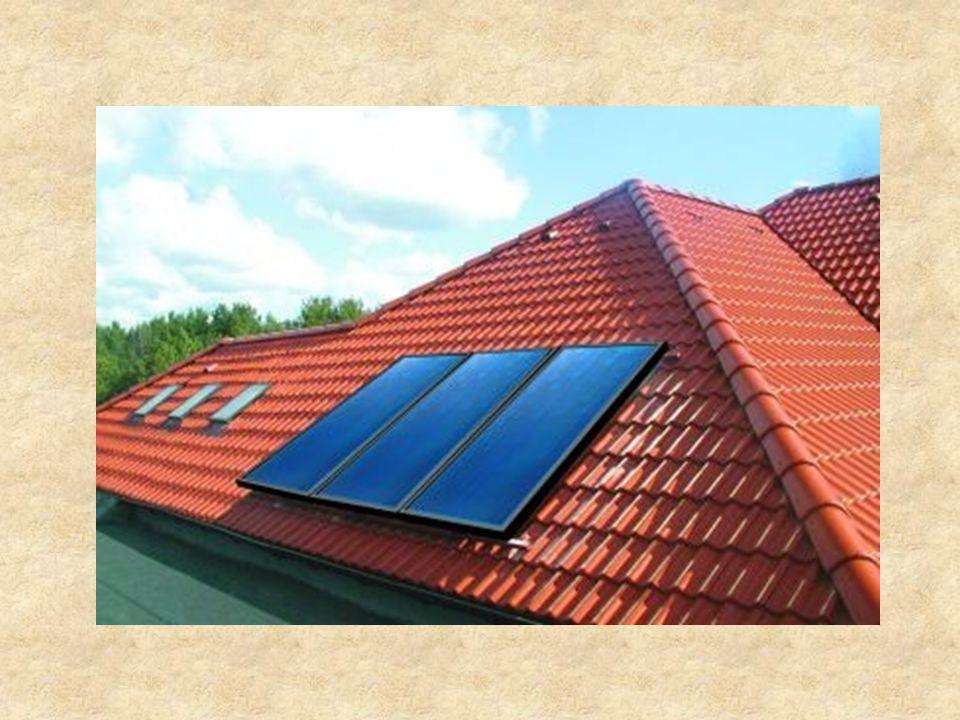 Rozważmy jeszcze taki przypadek: Porównanie energetyki konwencjonalnej i solarnej Założenia: Liczba gospodarstw domowych w Polsce – ok.12mln Liczba kolektorów w 1 gospodarstwie – 2 Minimalny uzysk energetyczny na rok – 550kWh/kolektor Całkowita energia uzyskana: Q = 12mln x 2 x 550 = 13 200 000 000 kWh/rok = 13 200GWh/rok