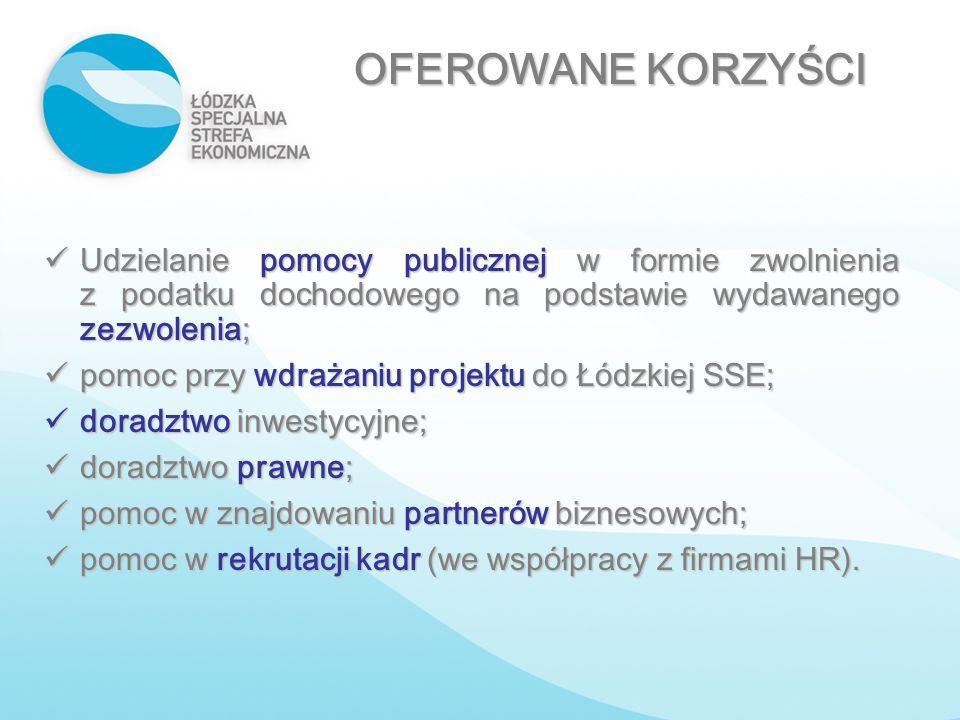 Udzielanie pomocy publicznej w formie zwolnienia z podatku dochodowego na podstawie wydawanego zezwolenia; Udzielanie pomocy publicznej w formie zwoln