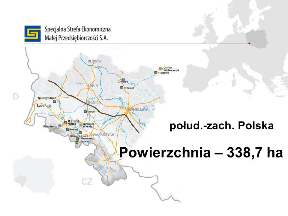 połud.-zach. Polska Powierzchnia – 338,7 ha