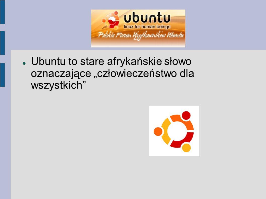 Wśród wielu zalet Ubuntu można wymienić: łatwość obsługi bezpieczeństwo (brak wirusów) atrakcyjne środowisko graficzne jest całkowicie po polsku wsparcie dla multimediów (filmy, muzyka, aparaty fotograficzne, pen-drive) brak komercyjnych rozwiązań (np.