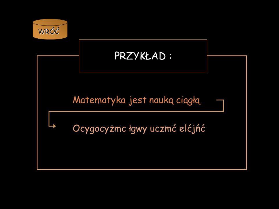 WRÓĆ SCHEMAT: