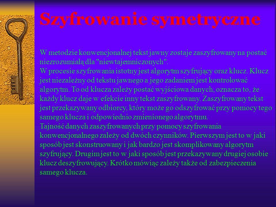 Historia i odszyfrowanie Enigmy Z powodu niemożności złamania szyfru Enigmy, w 1929 roku zorganizowano kurs kryptologii dla studentów matematyki pod kierunkiem profesora Zdzisława Krygowskiego.
