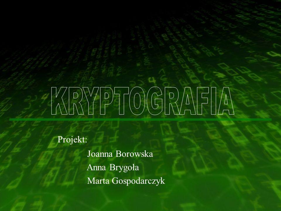 PODSTAWOWE POJĘCIA Szyfrowanie (kodowanie) - proces przekształcania tekstu jawnego w szyfrogram tak, że zostaje ukryta jego zawartość przed osobami postronnymi.