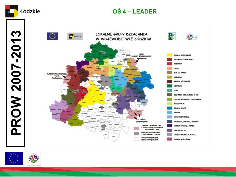 PROW 2007-2013 OŚ 4 – LEADER