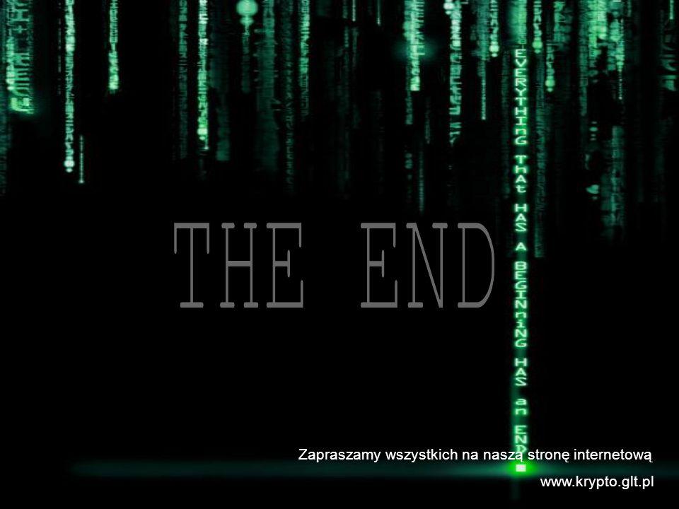 Zapraszamy wszystkich na naszą stronę internetową www.krypto.glt.pl