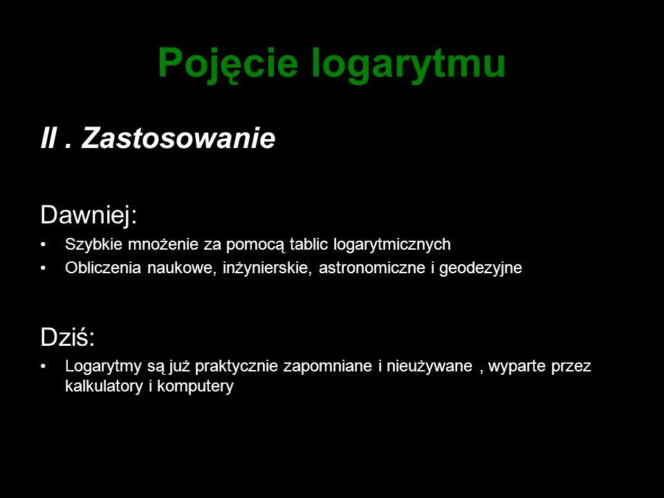 Suwak logarytmiczny I.