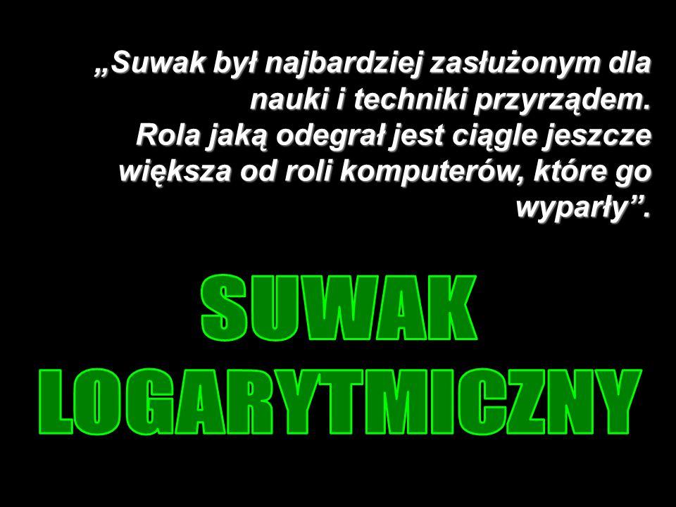 Suwak logarytmiczny 4.