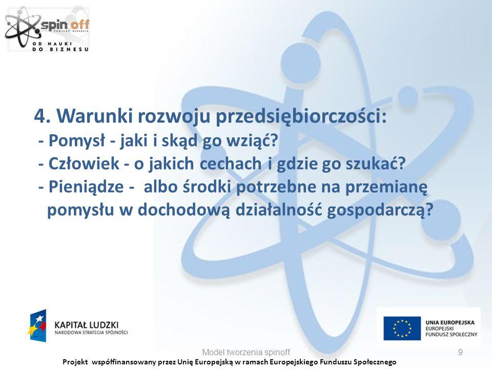 Projekt współfinansowany przez Unię Europejską w ramach Europejskiego Funduszu Społecznego 4.