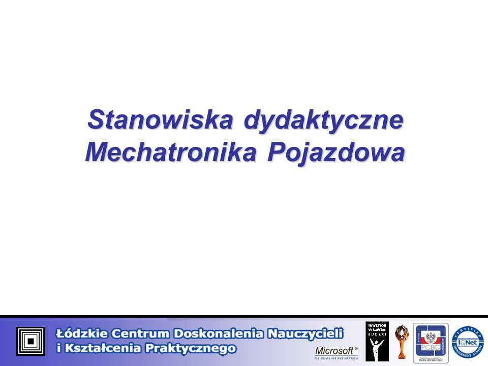 Stanowiska dydaktyczne Mechatronika Pojazdowa