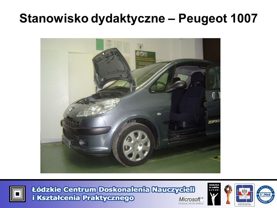 Stanowisko dydaktyczne – Peugeot 1007