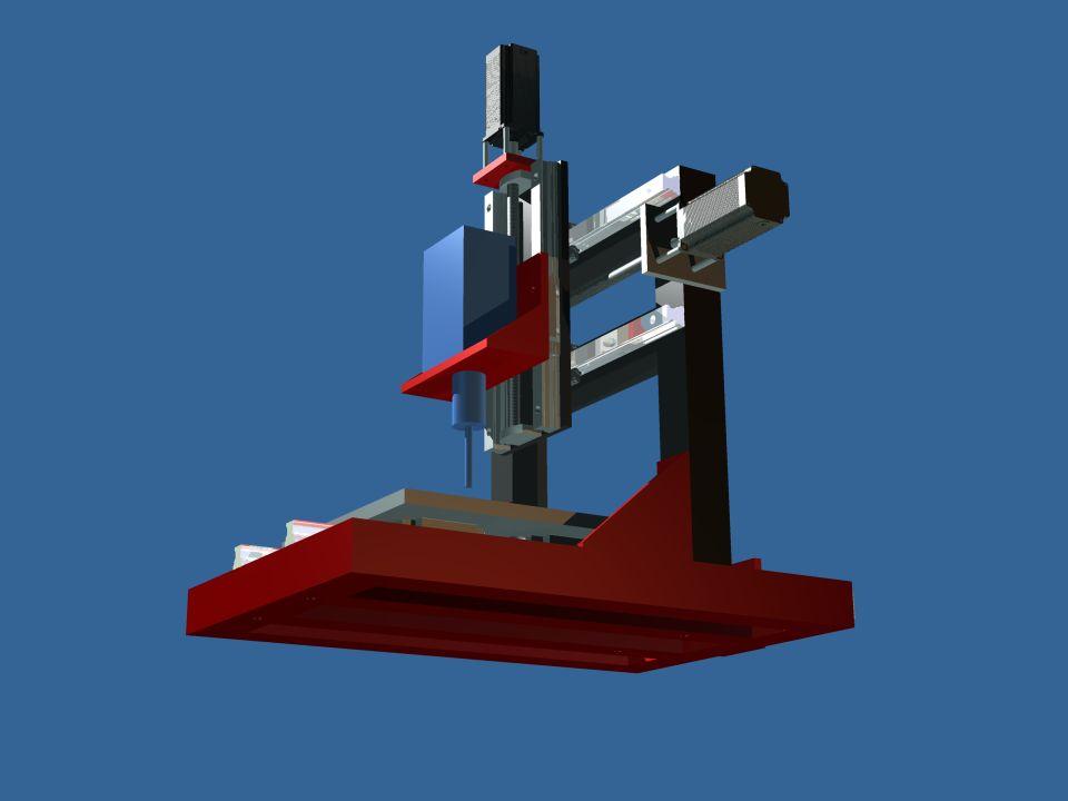 Naszym zadaniem jest zbudowanie urządzenia pozycjonującego które pozwoli realizować ruch głowicy frezarskiej w trzech osiach układu współrzędnych. Moż