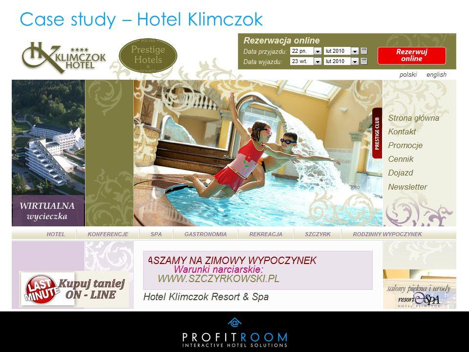 Case study – Hotel Klimczok