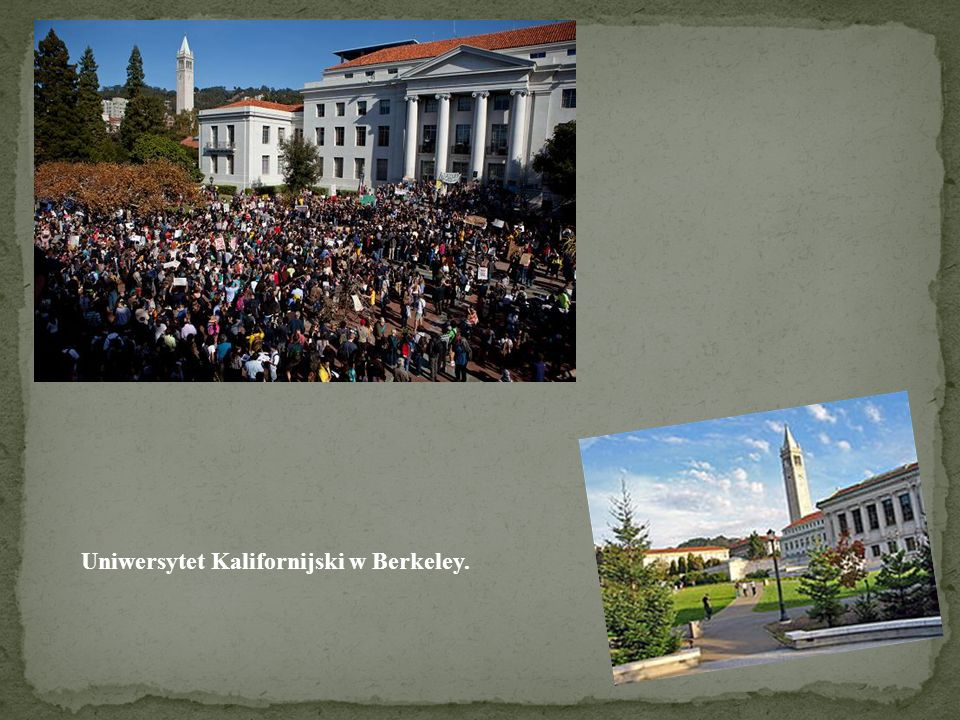 Uniwersytet Kalifornijski w Berkeley.