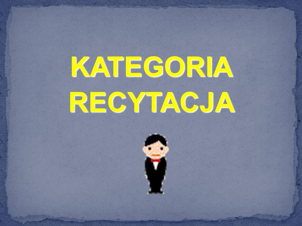 KATEGORIARECYTACJA