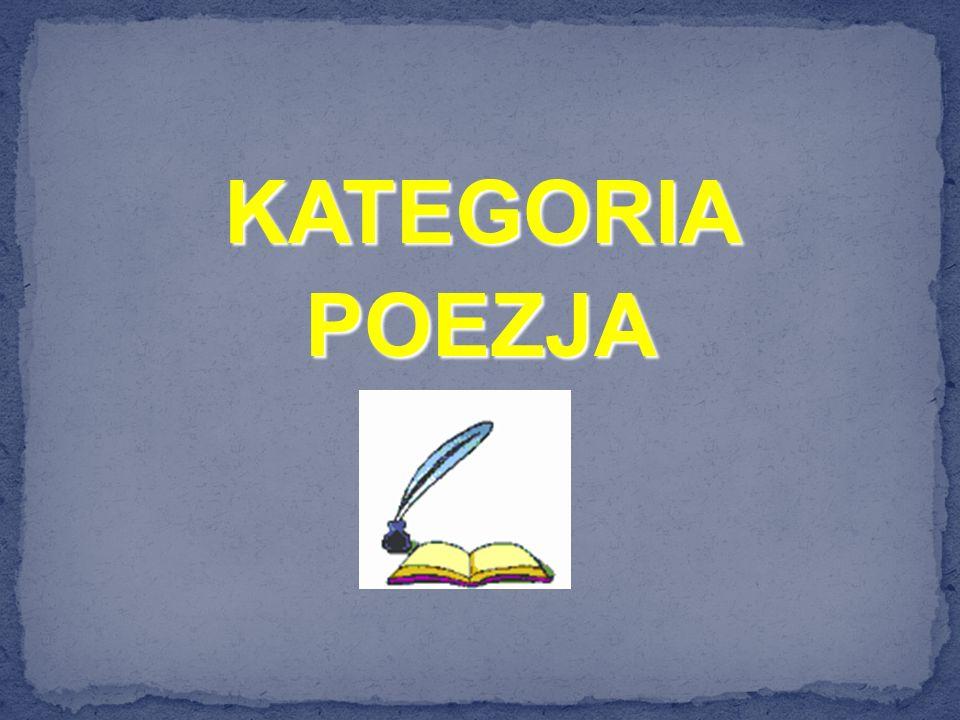 KATEGORIAPOEZJA