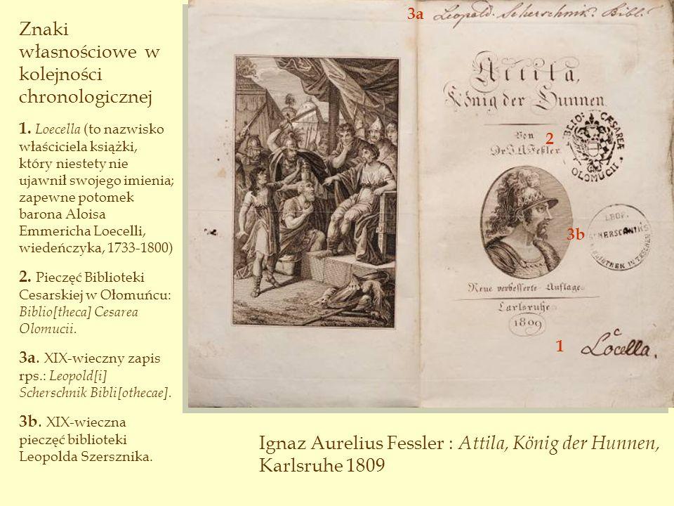 Książki wydrukowane w:...mogą mieć zapisy proweniencyjne z XVIII wieku...