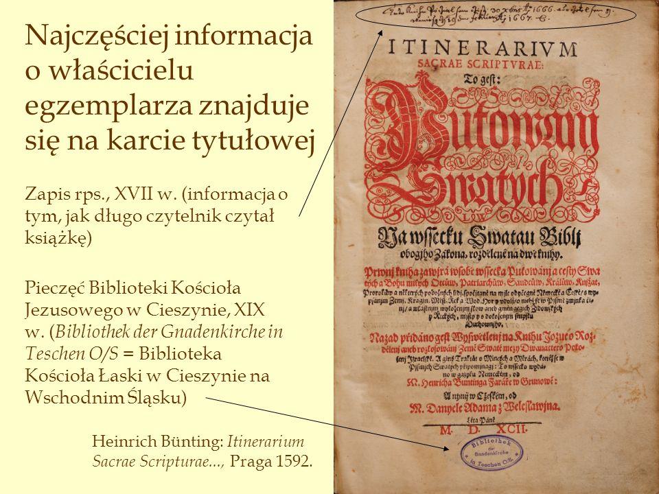 Zapis rps., XVIII w.
