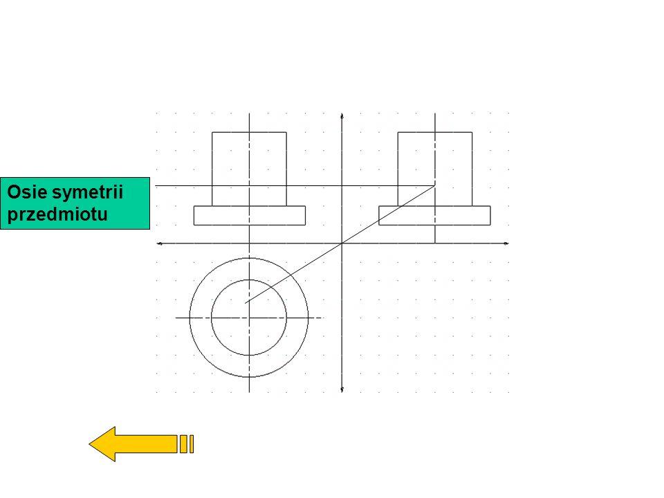 Na podstawie rzutów prostokątnych można narysować rysunek poglądowy rzutowanego przedmiotu.Spróbuj wybrać z podanych przedmiotów ten właściwy!Spróbuj