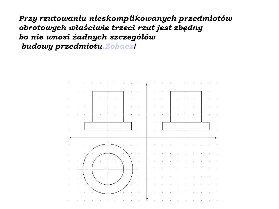 Osie symetrii przedmiotu
