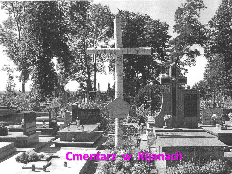 Pomnik upamiętniający miejsce spoczynku dwóch nieznanych żołnierzy z oddziału pułkownika Kajetana Cieszkowskiego ps.