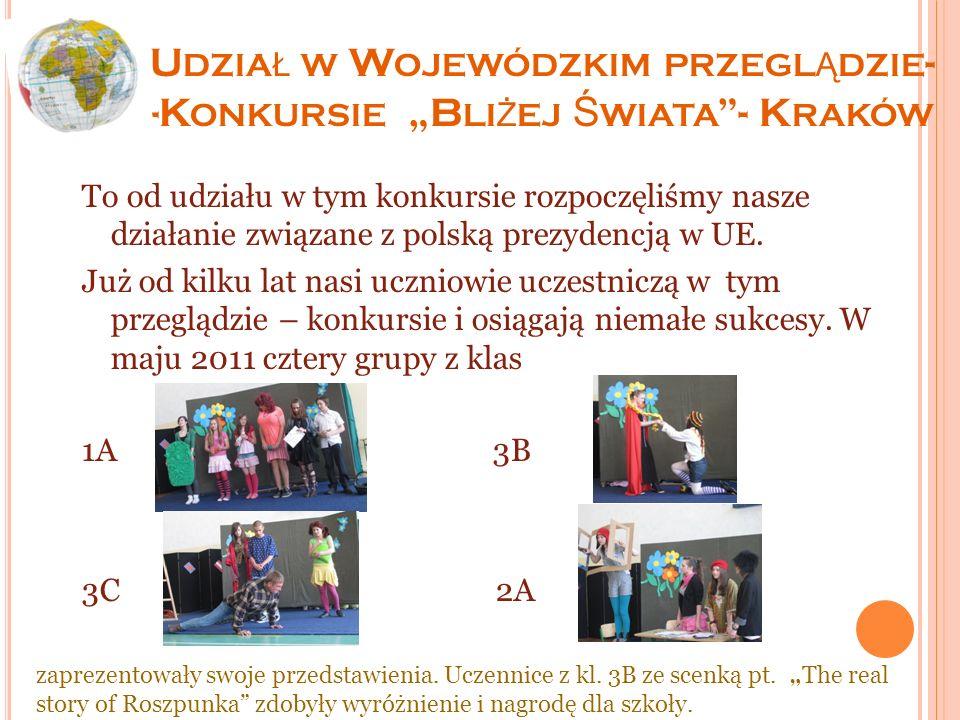 XI G MINNY K ONKURS L ITERACKI Dodatkową formą naszego zaangażowania w działania związane z polską prezydencją u UE stał się kolejny organizowany corocznie konkurs literacki pod hasłem Europejczyk na Podhalu, Góral w Europie – listy z podróży.