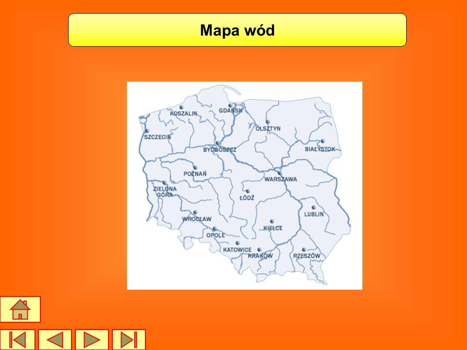 Mapa wód