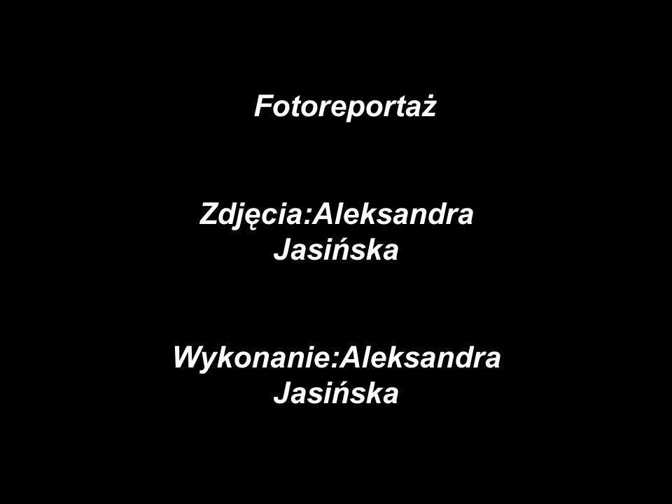 FFotoreportaż Zdjęcia:Aleksandra Jasińska Wykonanie:Aleksandra Jasińska