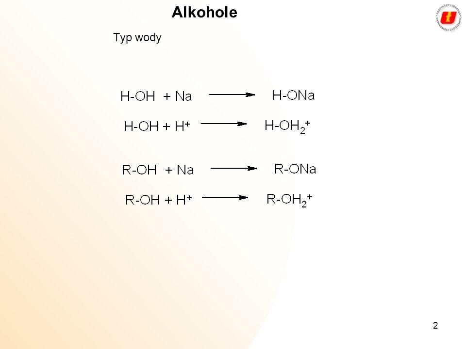 2 Alkohole Typ wody