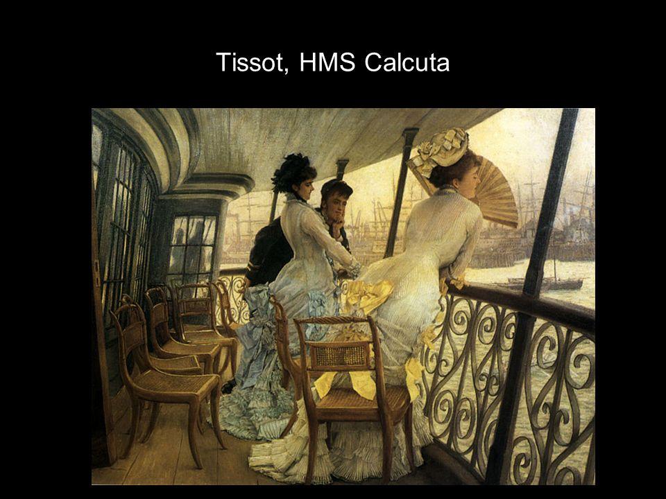 Tissot, HMS Calcuta
