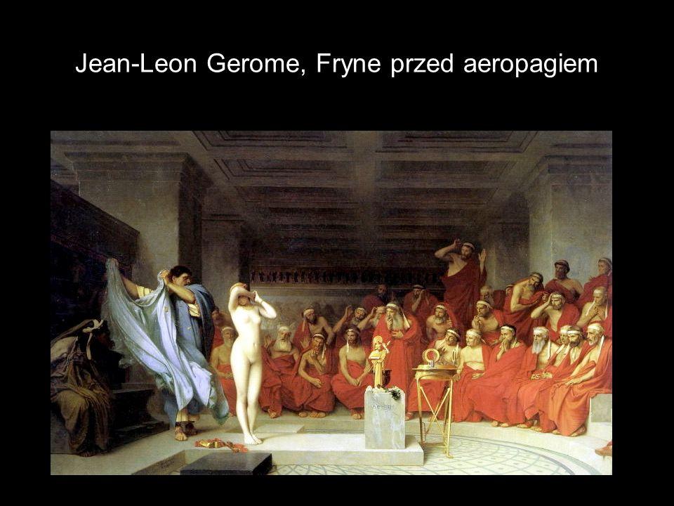 Jean-Leon Gerome, Fryne przed aeropagiem