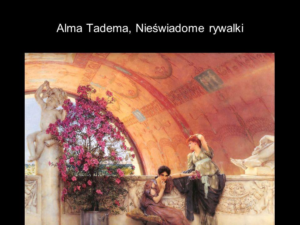 Alma Tadema, Nieświadome rywalki