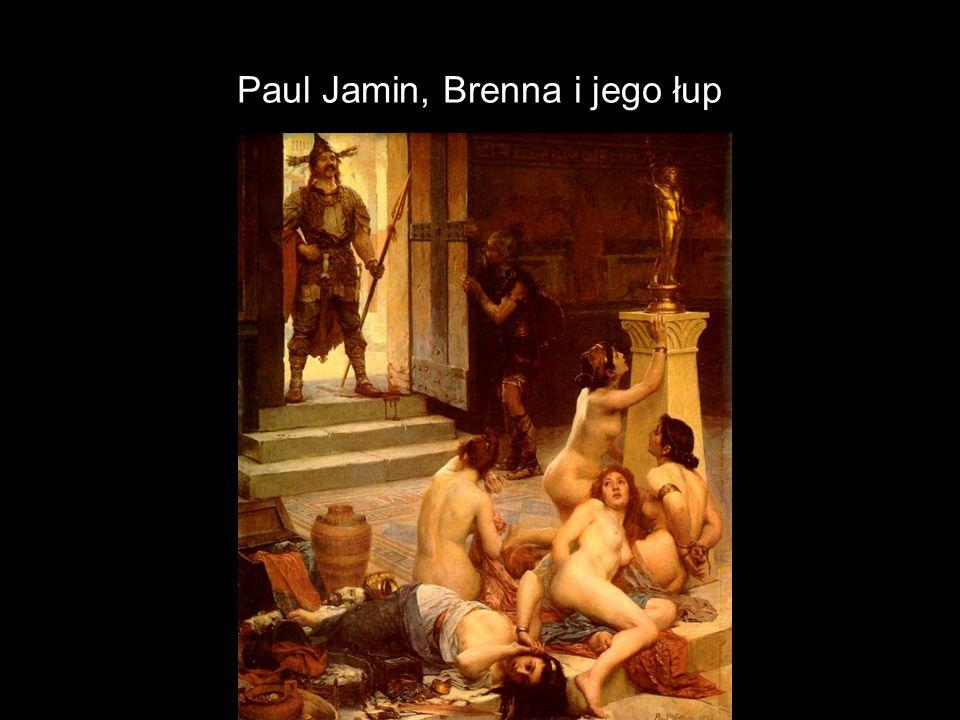 Paul Jamin, Brenna i jego łup
