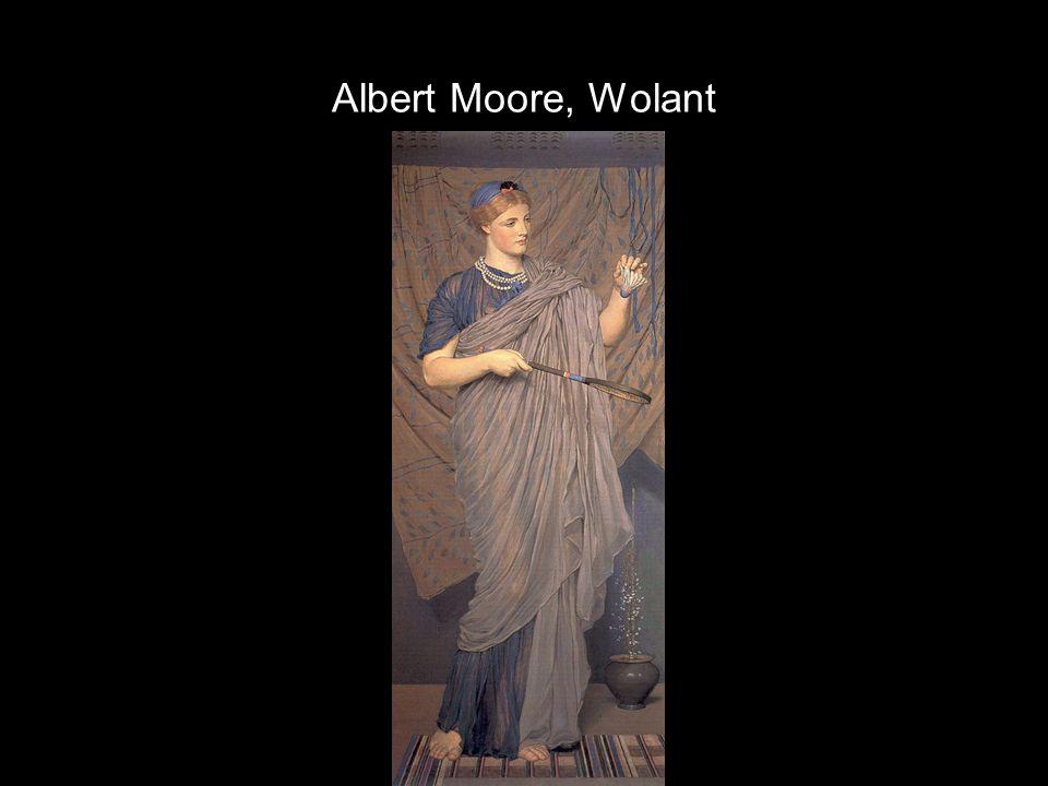 Albert Moore, Wolant
