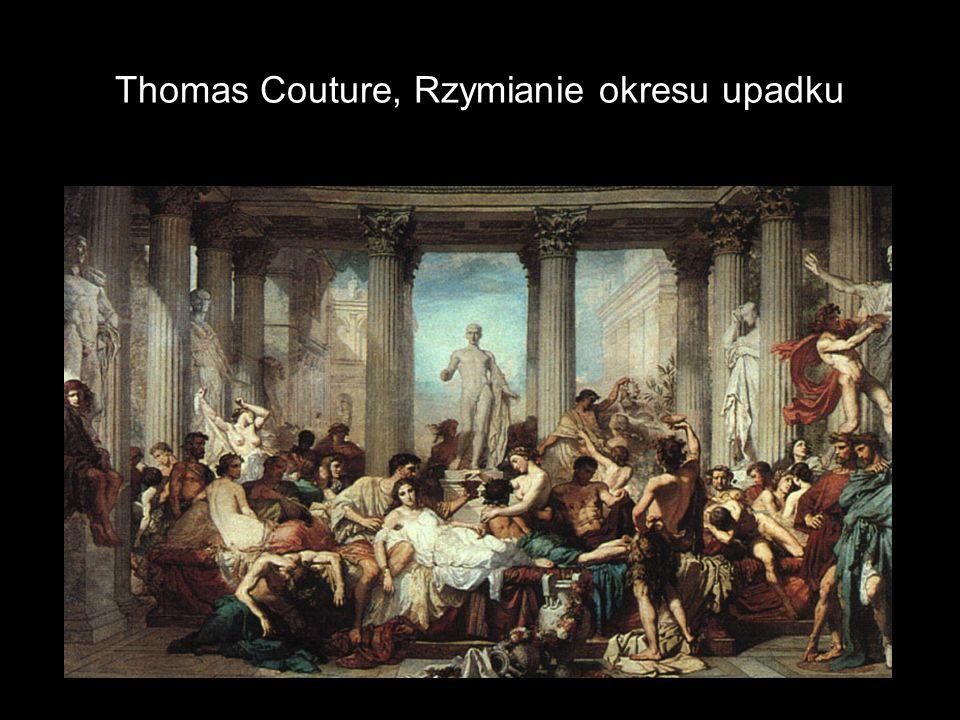 Thomas Couture, Rzymianie okresu upadku