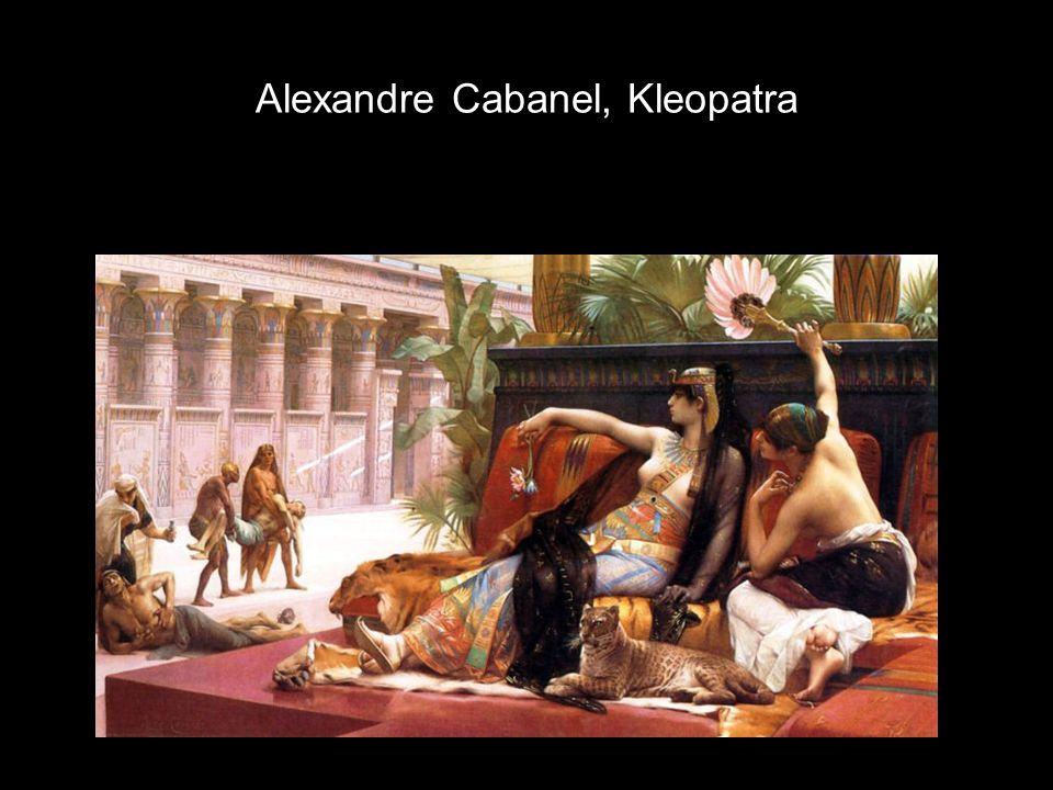 Alexandre Cabanel, Kleopatra