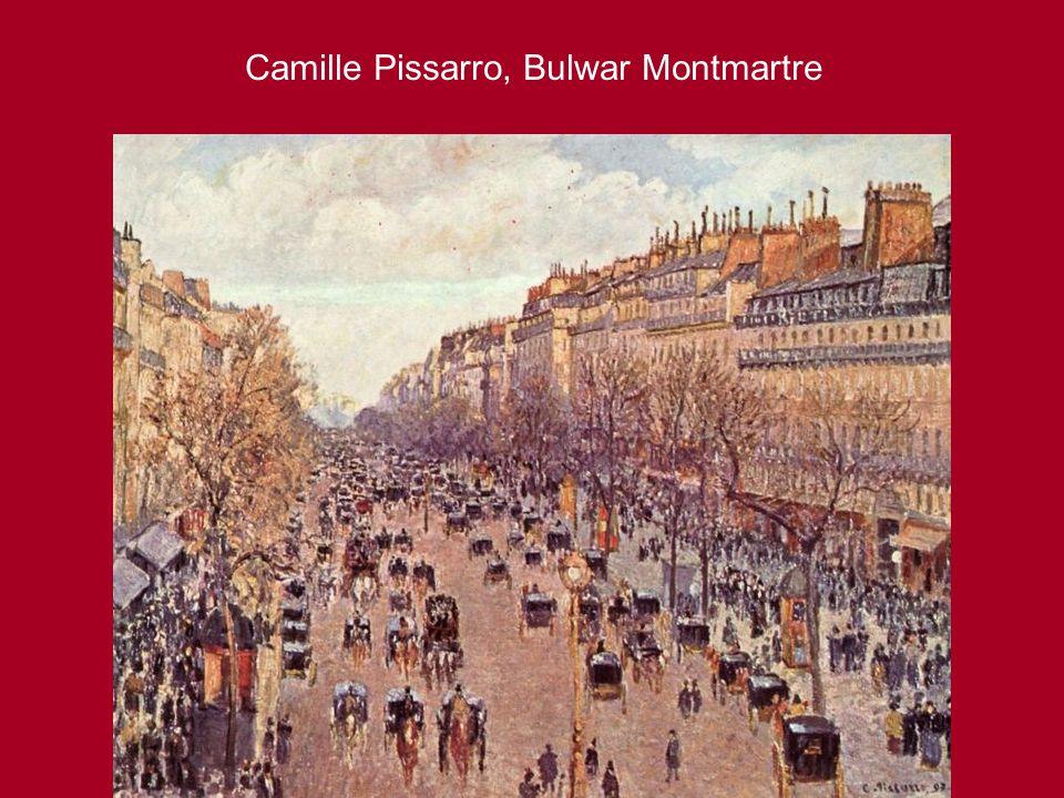Camille Pissarro, Bulwar Montmartre