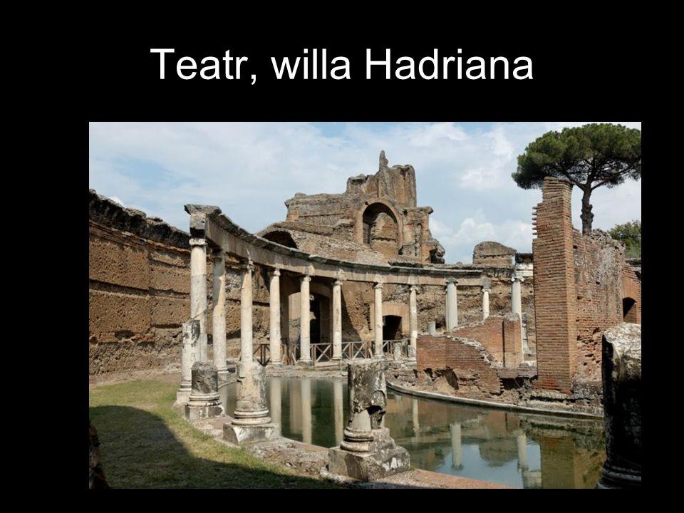 Teatr, willa Hadriana