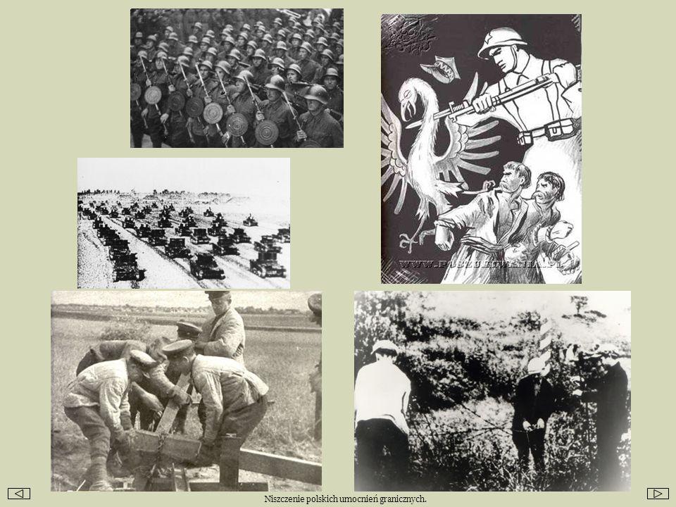 Die Bergungsarbeiten in Katyn.