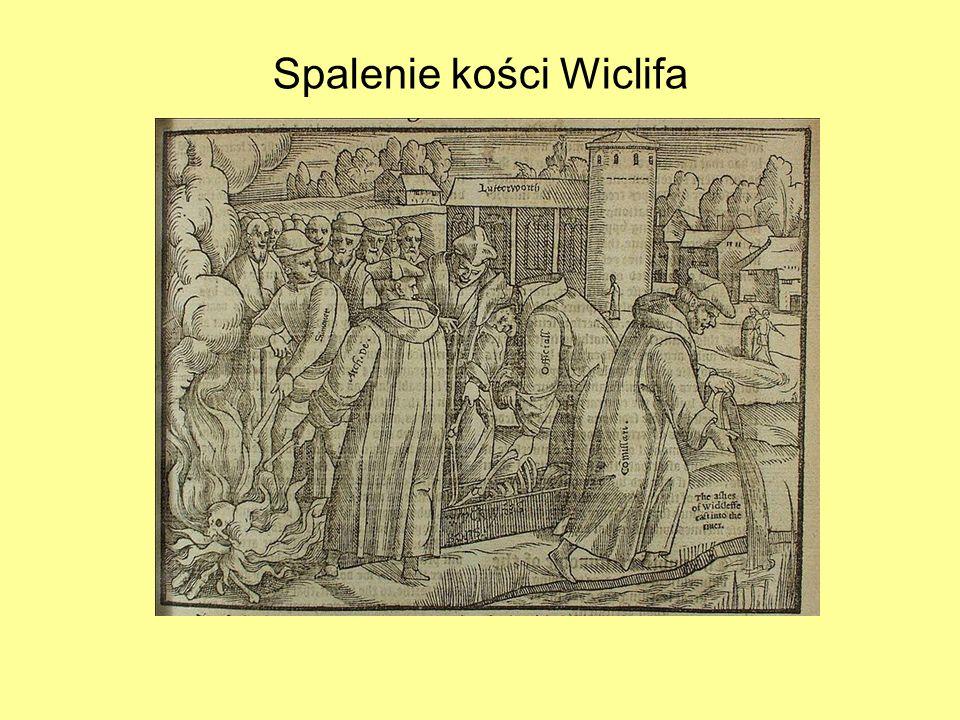 Spalenie kości Wiclifa