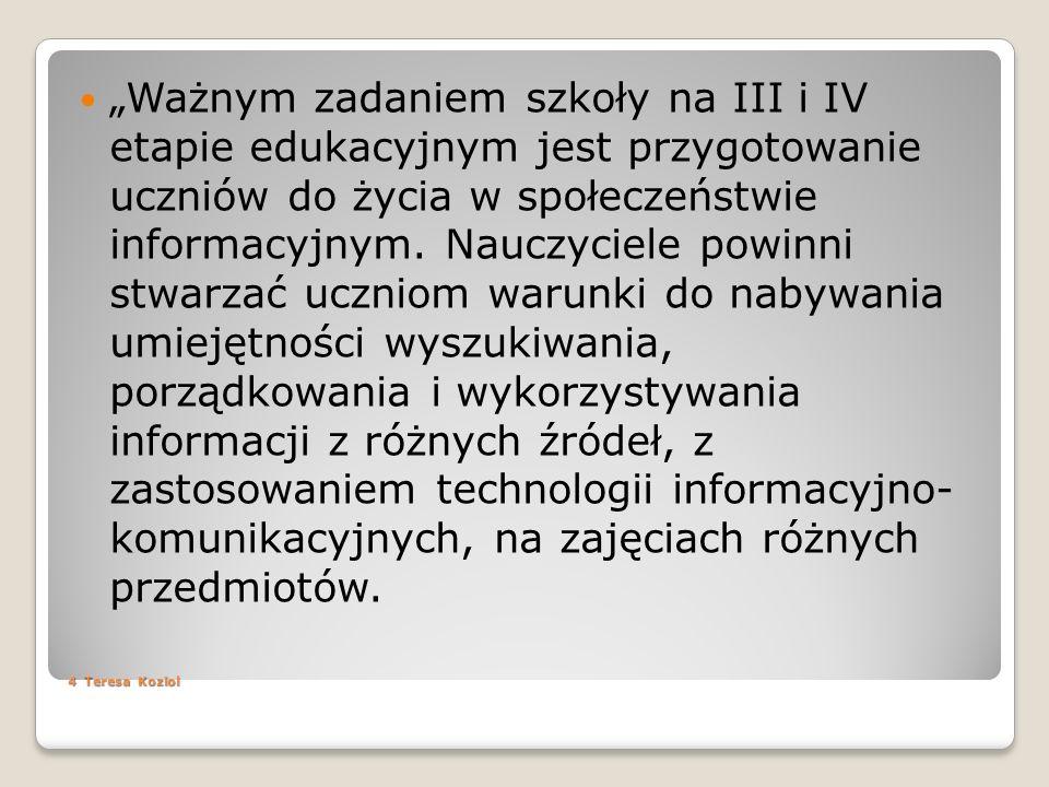 Biblioteki wirtualne http://www.pbi.edu.pl/index.html http://www.polona.pl/dlibra http://www.pbi.edu.pl/inne_biblioteki.html http://univ.gda.pl/~literat/indexx.htm http://www.icdlbooks.org
