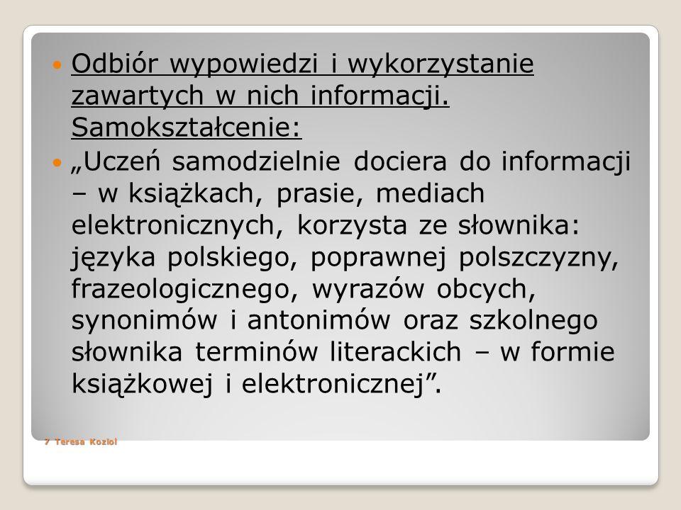 Strony popularne www.wolnelektury.pl http://www.gimnazjum.pl/ http://www.liceum.pl/ http://eduseek.interklasa.pl/ http://www.profesor.pl/ http://www.bryk.pl/