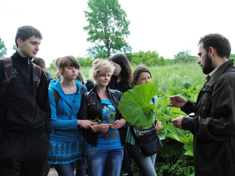 Zajęcia terenowe w Bieszczadzkim Parku Narodowym