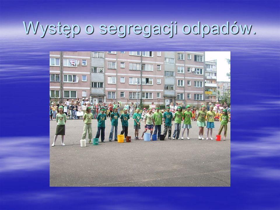 Rozpropagowanie ulotek o segregacji odpadów wśród mieszkańców Żar.