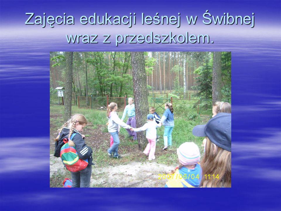 Sesja ekologiczna w Świbnej.
