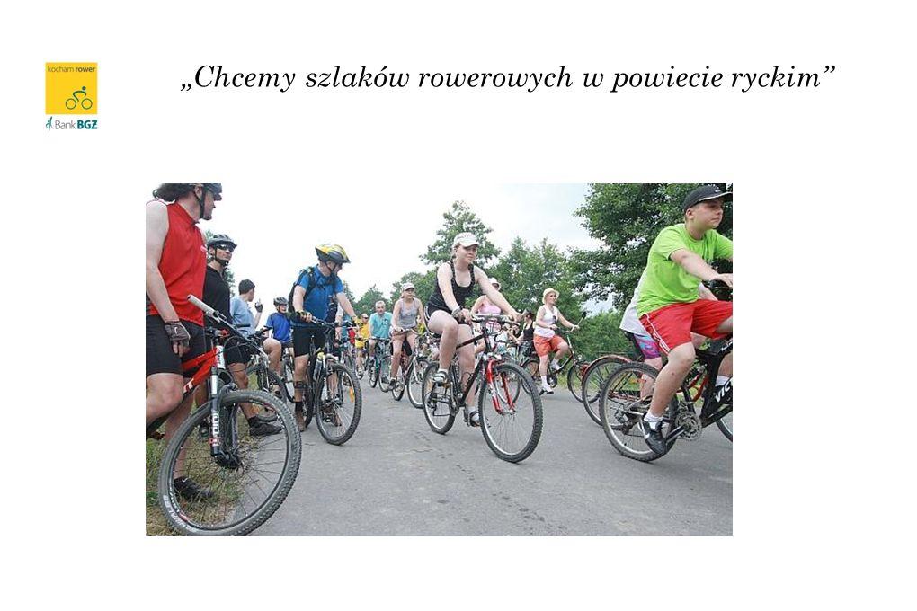 Chcemy szlaków rowerowych w powiecie ryckim