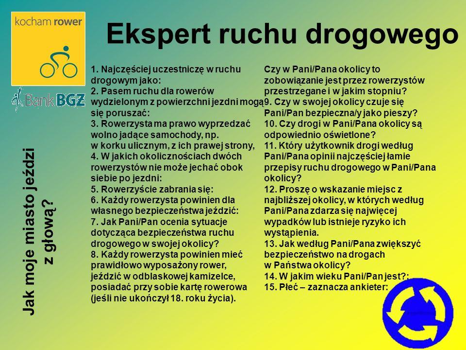 Który użytkownik drogi według Pana/Pani opinii najczęściej łamie przepisy ruchu drogowego w Pana/Pani okolicy.