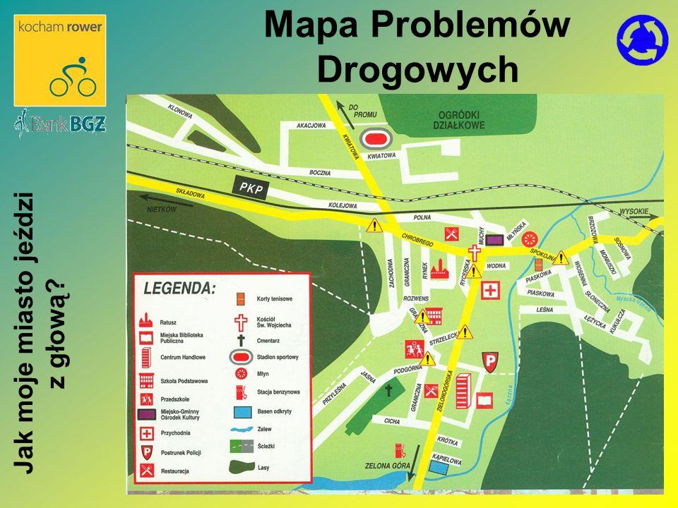 Mapa Problemów Drogowych Jak moje miasto jeździ z głową?