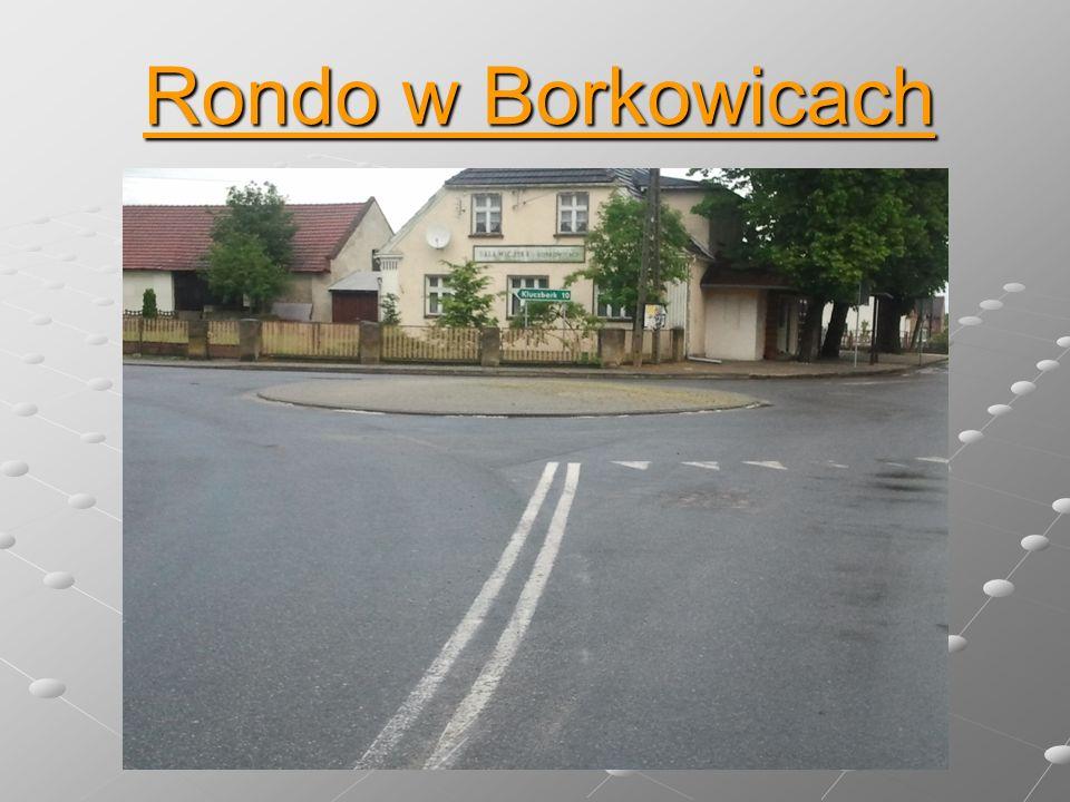 Zakręty pod koniec ulicy Kraskowskiej w Borkowicach